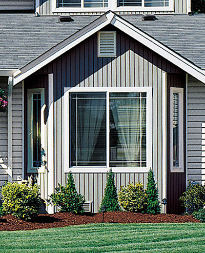 vertical style siding