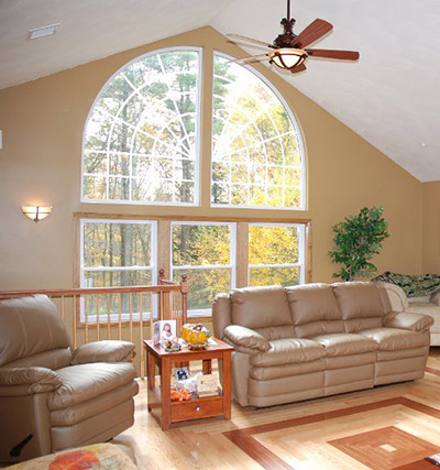 large architectural windows