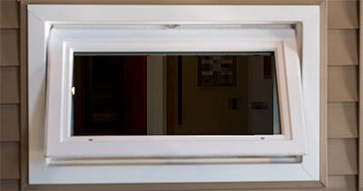 awning window outside