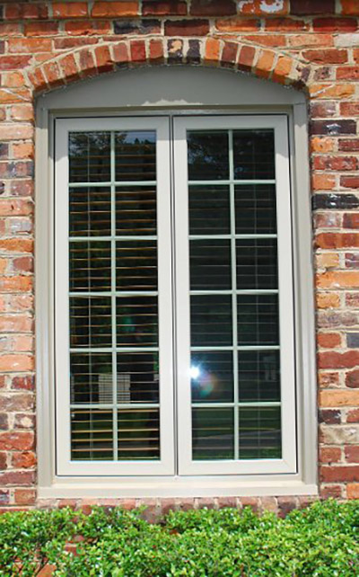 casement window outside