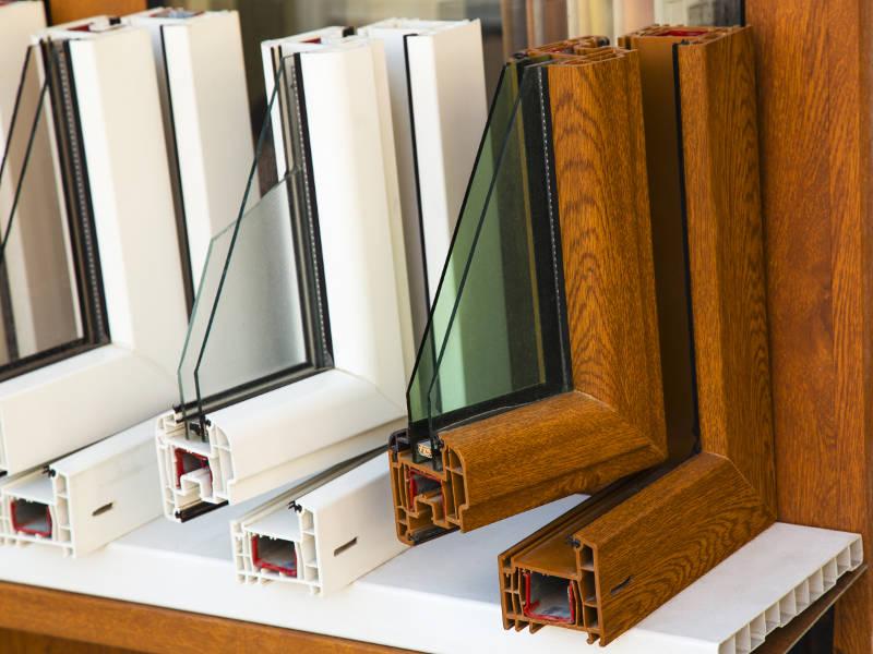 double pane window displays
