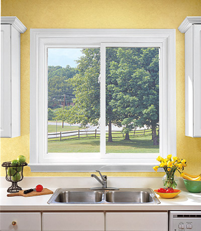 sliding window above a sink