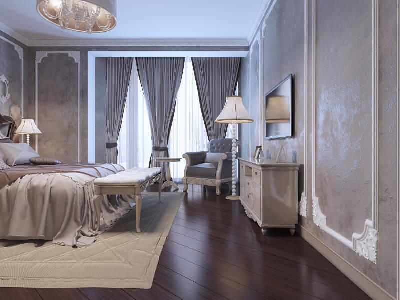 beautiful bedroom window treatments
