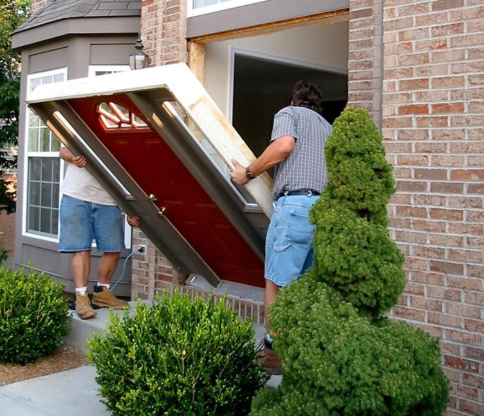 entry door install